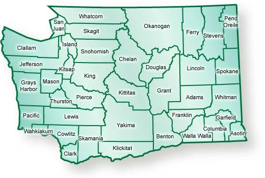 Washington State Counties
